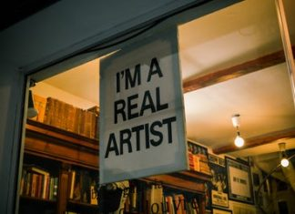 real artist text